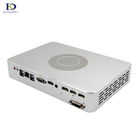 Newest 4G Dedicated Card Game Mini PC with GTX1050TI Intel Qaud Core i7 7700 8MB Cache 2*HDMI DVI DP multi screen display pc