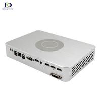 Newest 4G Dedicated Card Game Mini PC with GTX1050TI Intel Qaud Core i7 7700 8MB Cache 2*HDMI DVI DP multi screen display pc