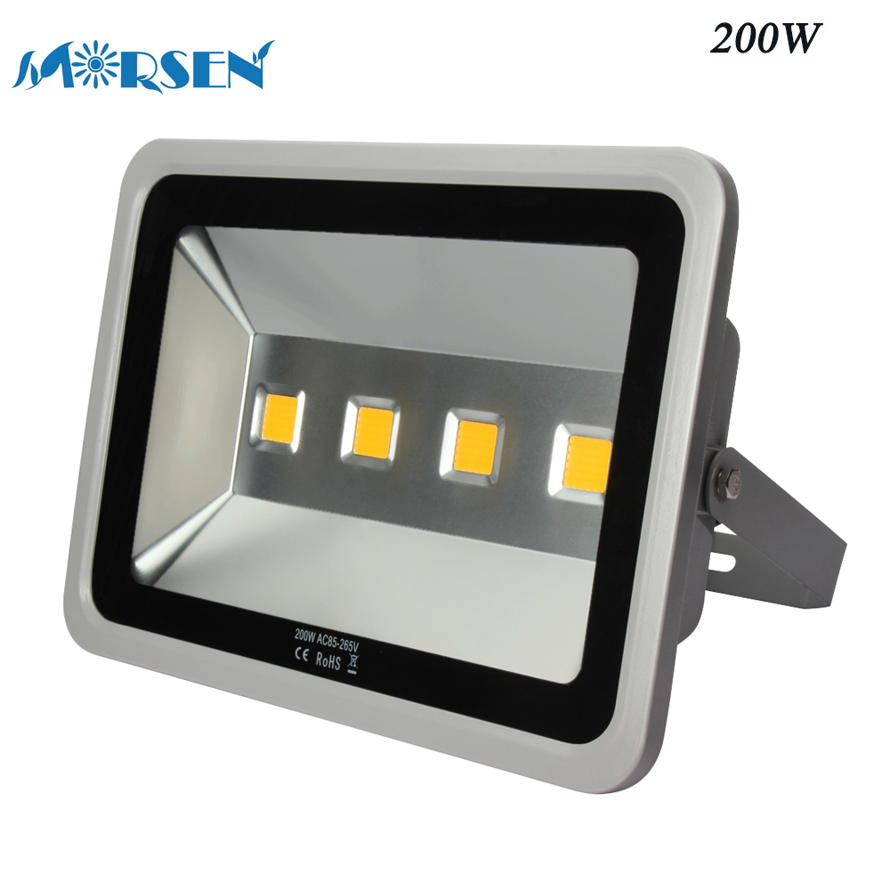 1pcs Led Floodlight 150W 200W 300W 400W 500W 600W Led Flood Light LED Spotlight Reflector Street Lamp Outdoor Lighting#30 30% off 2pcs ultrathin led flood light 50w black ac85 265v waterproof ip66 floodlight spotlight outdoor lighting free shipping