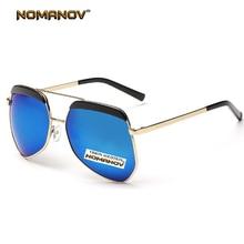 NOMANOV BRAND The classic Retro trend Eyebrow frame colorful lens Polarized Sunglasses Tac Enhanced Polarised Sun glasses UV400