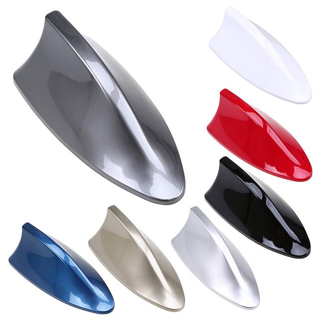 POSSBAY Car Shark Fin Antenna Auto Radio Signal Aerials Roof Antennas for BMW/Honda/Toyota/Hyundai/VW/Kia/Nissan Car Styling
