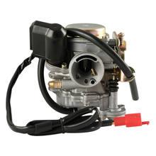Carburateur 4 temps GY6 139QMB chinois pour moto et Scooter, pour réservoir SUNL BAJA NST VIVA ATM BMS REDCAT, 50cc 60cc 49cc