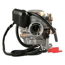 Motorcycle Scooter Carb Carburetor 50cc 4 stroke Chinese GY6 139QMB Moped 49cc 60cc For SUNL BAJA