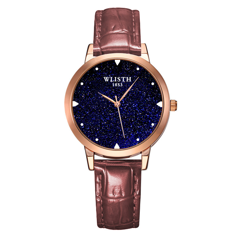 Luxury Starry Sky Women Watches Fashion Ladies Dress Wrist Watches Leather Style Waterproof Clock Female relogio Feminino 2018 3