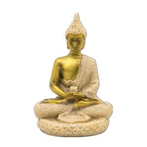 Вилаад 16 стиль статуя Будды природный песчаник таиландский Будда скульптура инду фэншуй фигурка медитация миниатюрный домашний декор