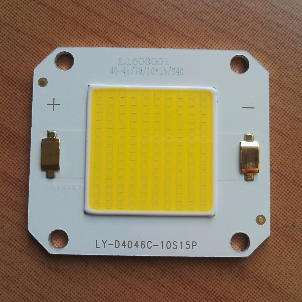 2pcs  60W Integrated LED Lamp Beads Neutral White Light 4000 ~ 4500k Color Temperature 10~60 Watts Integrated LED Lamp Beads