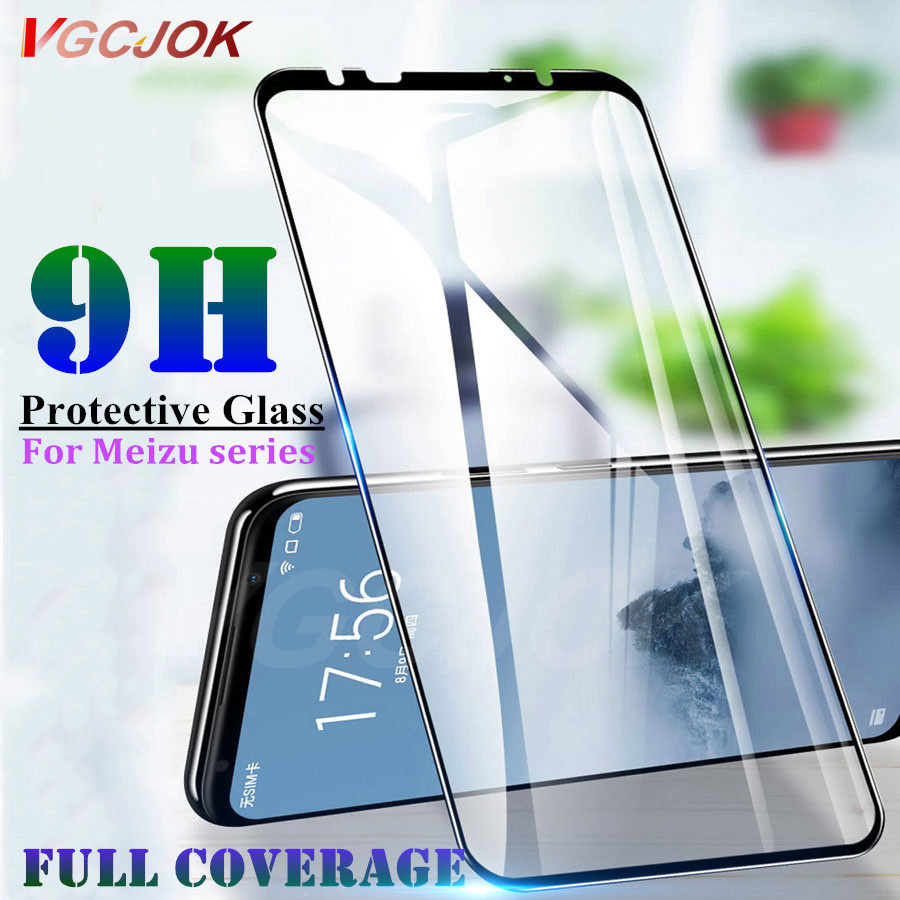 Protective-Glass Screen-Protector 16th Note 9 Meizu 16 15-Plus M6T 9H for 8-m8x8/M6t/16th
