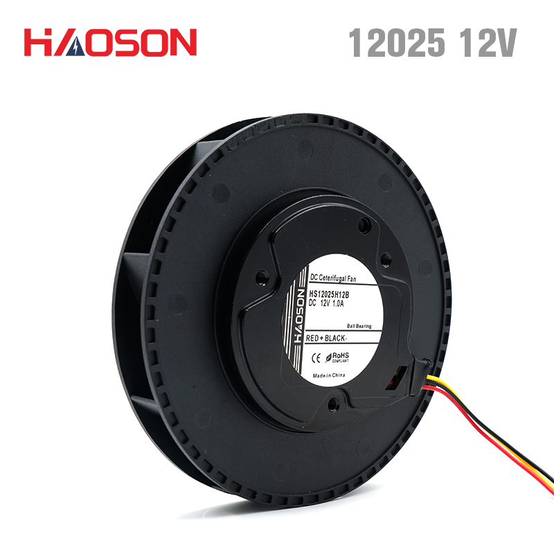 12025 air blower DC <font><b>12V</b></font> Centrifugal fan,Brushless DC <font><b>motor</b></font>,air purifier 120*<font><b>25mm</b></font> HS12025H12B image