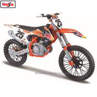 Maisto 1:6 KTM Red Bull NO25 authorized simulation alloy motorcycle model toy car Locomotive model car decoration