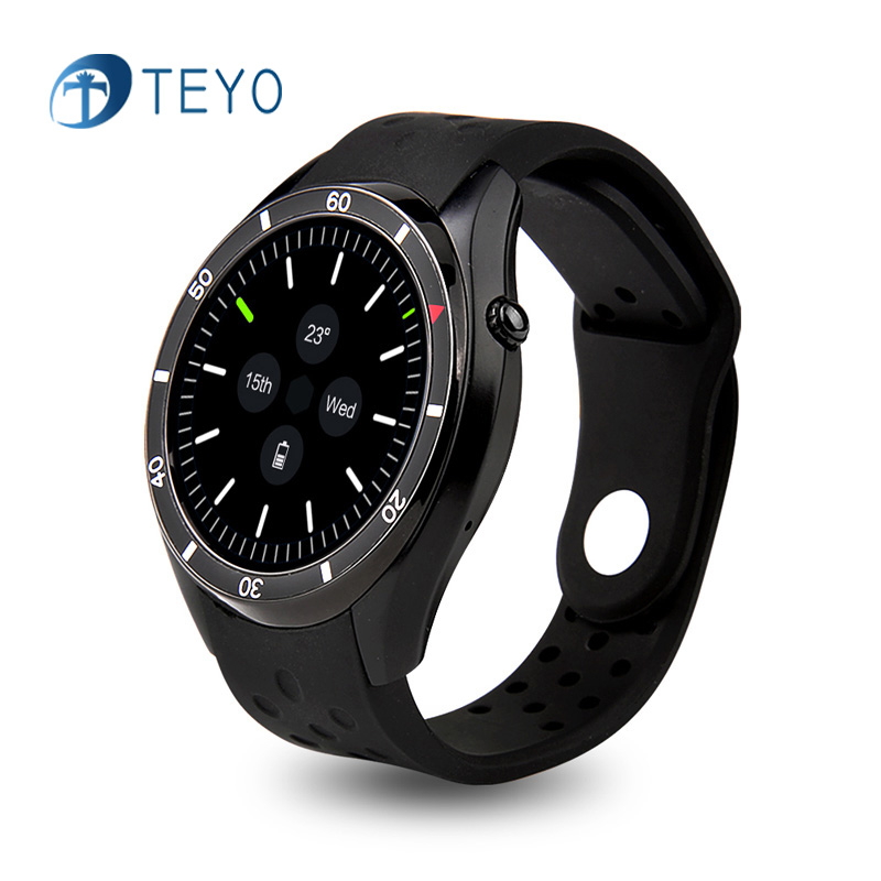 Teyo New Smart Watch i3 MTK6580 Bluetooth Wristwatch SIM Card 3G WIFI GPS Goolgle play Heart Rate Smartwatch for Andriod 4.1 heart rate smart watch wristwatch reloj inteligente z01 support 3g sim tf card wifi gps mp3 mp4 fitness traker bluetooth camera