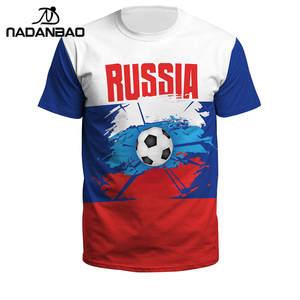 9f2aa2ec255 Plus Size Football Shirts Summer Man Women Russia Soccer Jerseys