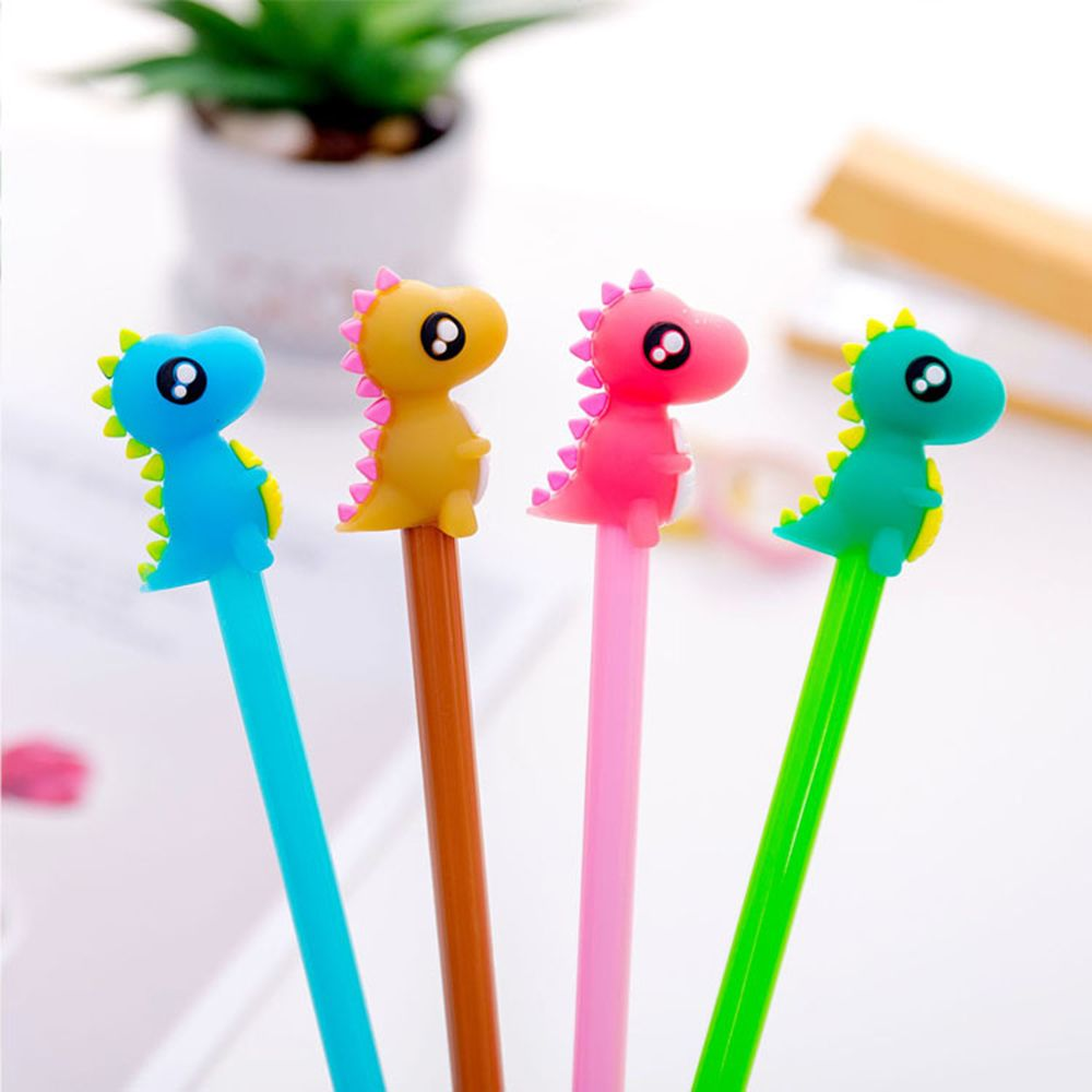 1 PCS 0.5mm Cute Small Monster Gel Pen Promotional Gift Stationery School & Office Supply Kawai Neutral Pen Stationery