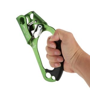 Image 1 - Lixada правый ручной Жумар для 8 мм 13 мм веревка открытый инструмент скалолазание Спасательный Инструмент для активного отдыха
