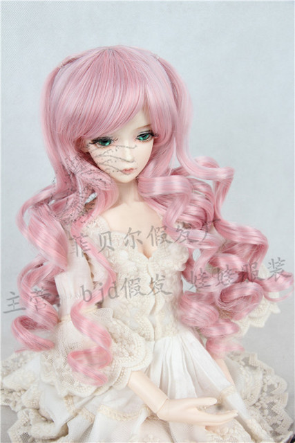 doll wig for BJD 1/3 1/4 1/6 Scale BJD/SD wig.variety of colors .A15A1067.only sell wig.Not included doll clothes accessories
