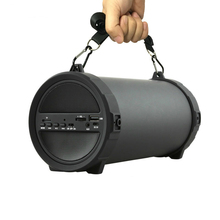 цена на Hot Sale 89mm Big Bass Outdoor Bluetooth Speaker Wireless Sports Portable Subwoofer Bike Car Music Speakers Radio Fm Mp3 Player