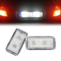 Fabrik Großhandel preis Canbus Free LED Kennzeichenbeleuchtung für BMW E66, led rücklicht, 18 smd führte lizenz-lampe