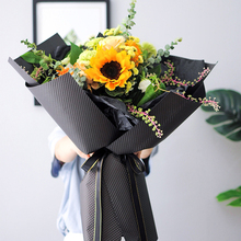 10 листов/мешок 60*60 см мерное тиснение художественная бумага оберточная бумага цветы подарок