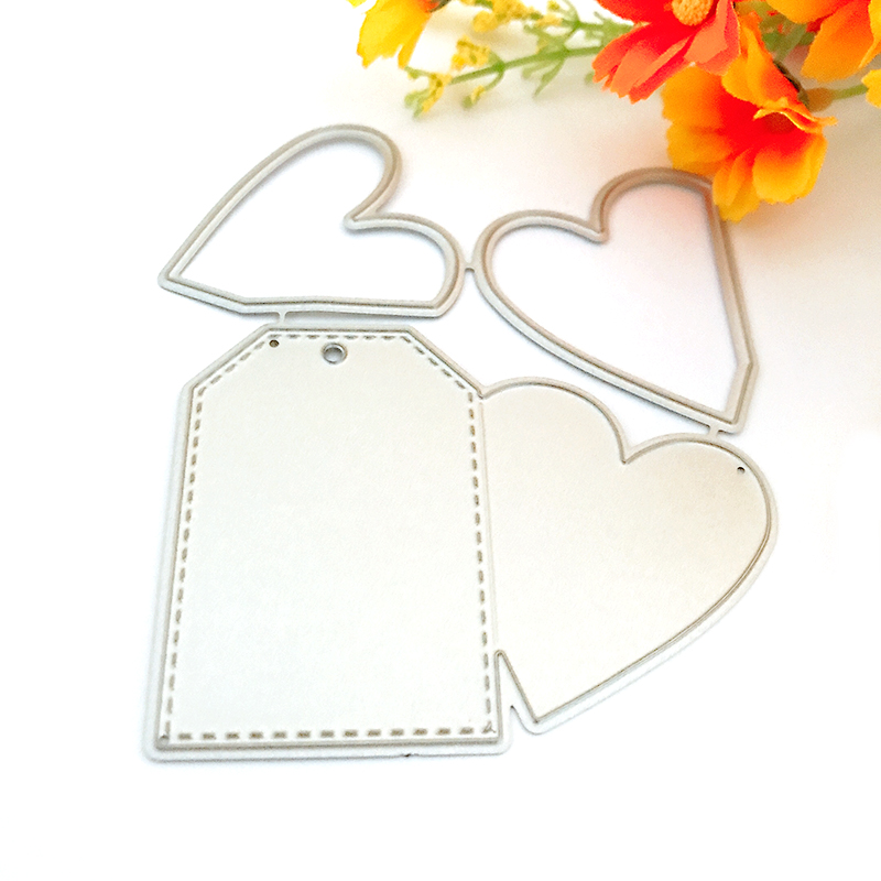 Band Aid Shape Metal Cutting Stencil For Scrapbooking Album Creative Embossing