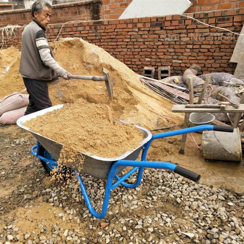 Dump-Truck Rickshaw Trolley Van Transport Construction-Site Sand Cargo-Gravel Agricultural-Two-Wheeler