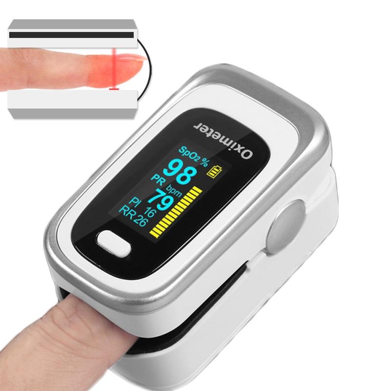 saturometro de sangue dispositivo médico pulsioximetro dedo