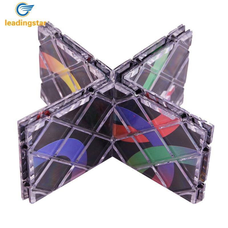 LeadingStar Lingao 8 Panels Puzzle Cube Magic Folding Puzzle Cubes Twisty Classic Toys For children Professional Magic zk15