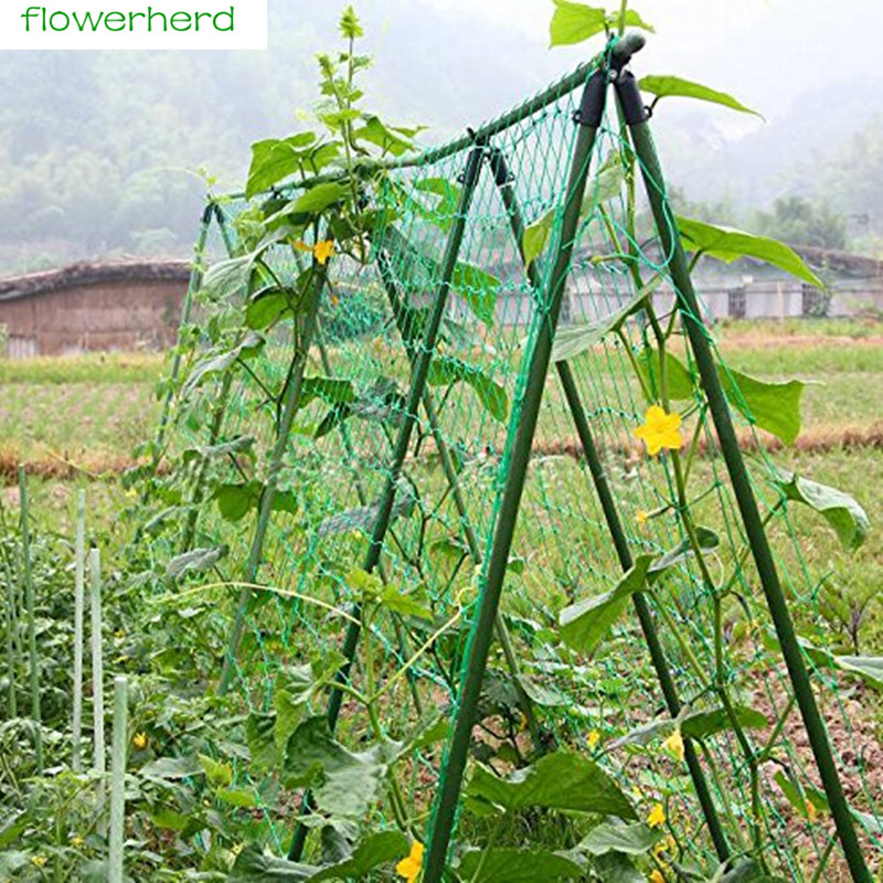 0.9x1.8m/1.8X1.8m/1.8x2.7m/1.8x3.6m Garden Net Vine Plant Climbing Net Nylon Net For Home Garden Use
