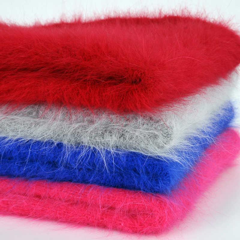 50G + 20G/Set Hoge Kwaliteit Lange Pluche Nerts Fluwelen Garen Zachte Warme Snoep Kleur Hand Breien sjaal Trui Draad Voor Fall Winter