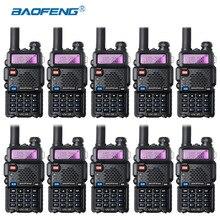 10 Stücke Baofeng UV-5R Walkie Talkie Großhandel UV5R CB Radio FM 128CH VOX Ham Radio Fern Transceiver für Jagd Radio