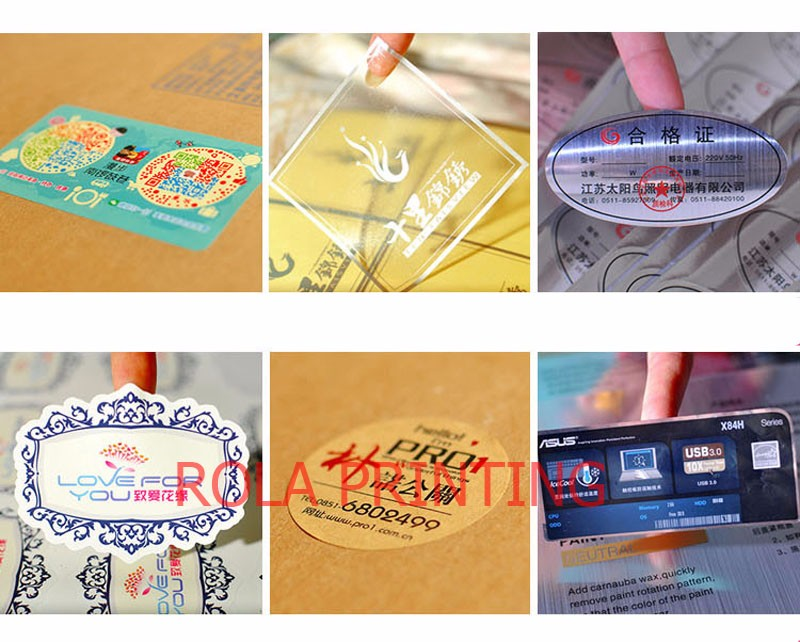 brilho de china, etiqueta adesiva reflexiva da etiqueta