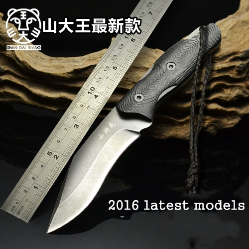 Hunting Tactical Knife Fixed Blade Knife Rescue Tools Glistening 9Cr18Mov Blade Hunting Straight Knife G10 Handle ontario knife rat 1
