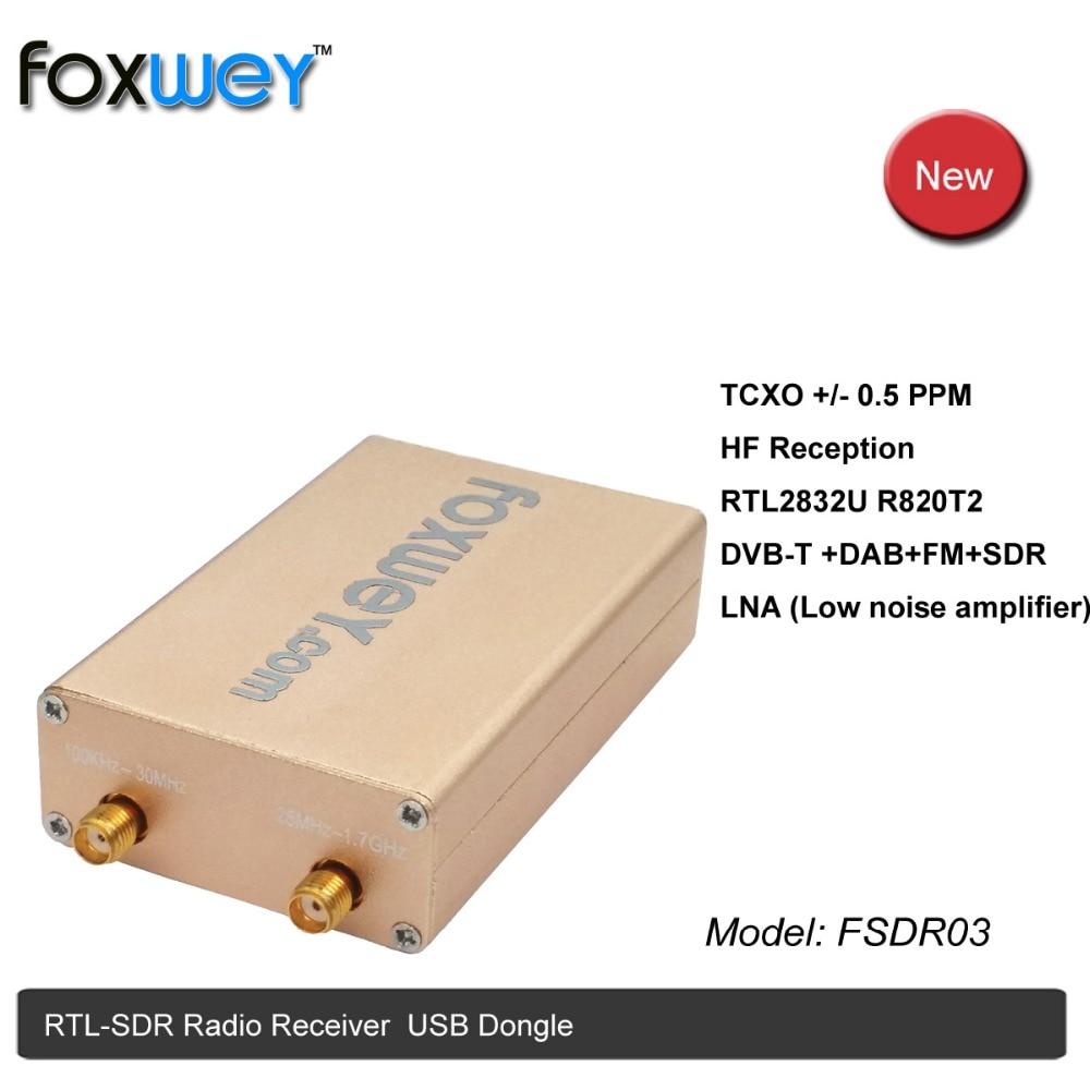 Nouveau RTL SDR RTL2832U R820T2 HF AM TXCO SMA pour ADSB, AIS, ACARS, POCSAG, APRS, NOAA APT météo satellites, DAB, ham radio