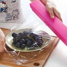 Keythemelife Calidad PP material plástico de corte caja de Seguridad Fast Neat Corte Gadgets de Cocina 3 Colores B