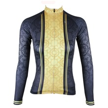ILPALADINO Women's Bike Jersey Mtb Bike Classic Women's Tops Long Sleeve Bike Clothing Bike Jersey Cycle Clothing Jerseys