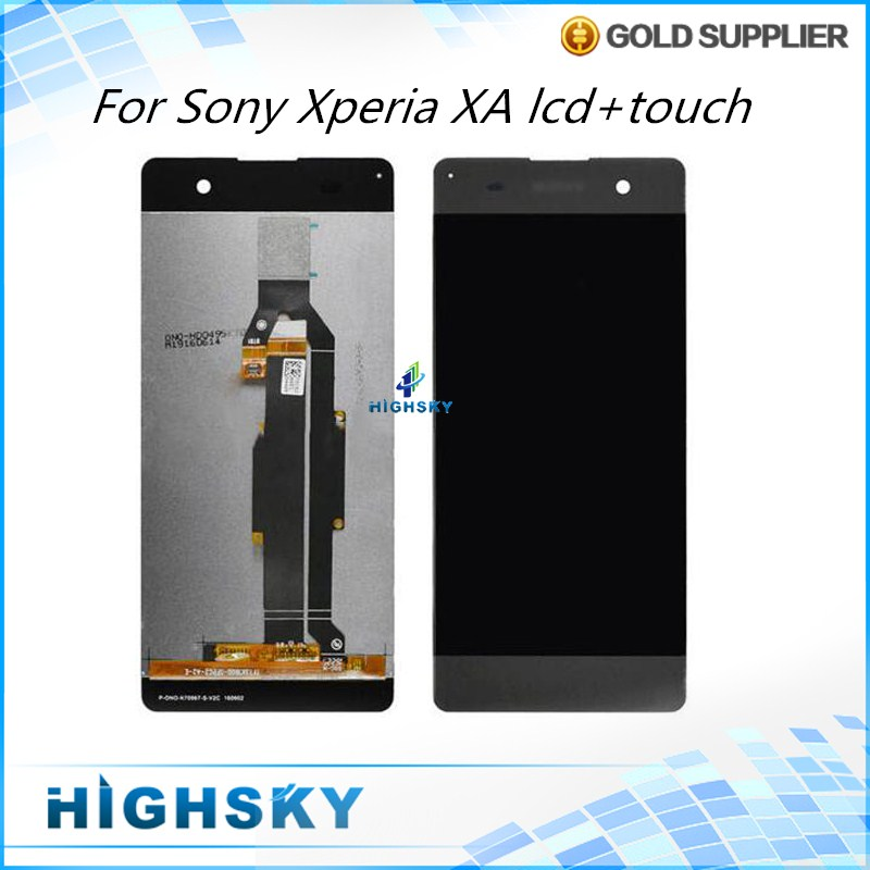 Подробнее о 10 pcs/lot DHL/EMS For Sony Xperia XA LCD Display With Touch Screen Digitizer Assembly Replacement Parts 5 inch Black White wholesale black and white lcd screen display and touch screen digitizer assembly for sony for xperia m5 free dhl ems shipping