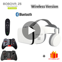Bobo Bobovr Z6 Casque Helmet 3D VR Glasses Virtual Reality Headset For iPhone Android Smartphone Smart Phone Goggles Lunette Ios
