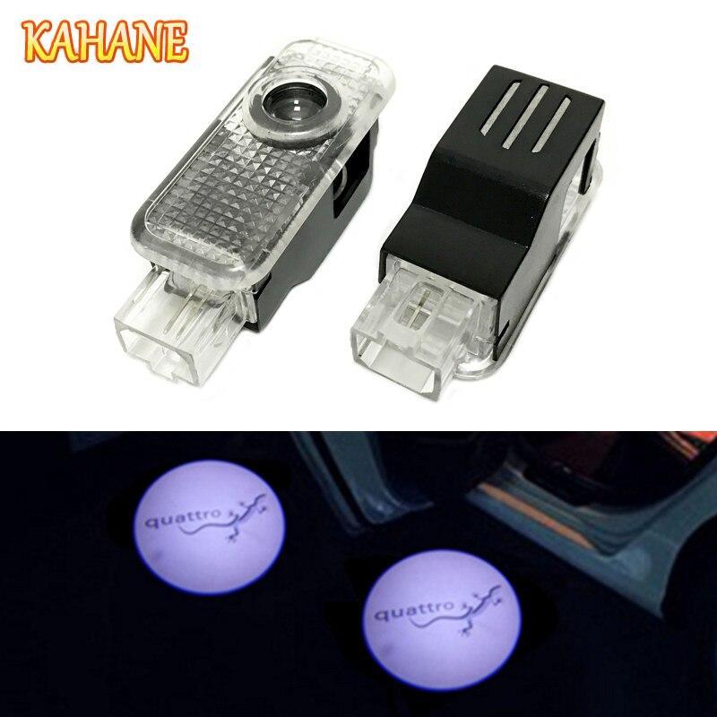 Кахане 2x водить автомобиль дверь лазерный проектор света для Audi A3 <font><b>A4</b></font> A5 A6 A8 B5 B6 B7 <font><b>B8</b></font> C5 c6 S3 S4 S5 S6 S7 S8 RS3 RS4 RS5 RS6 RS TT