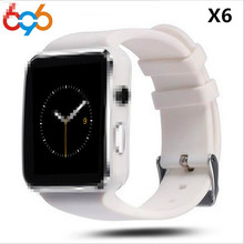 696 Bluetooth Smart Watch X6 Sport Passometer Smartwatch with Camera Support SIM Card Whatsapp Facebook for Android Phone