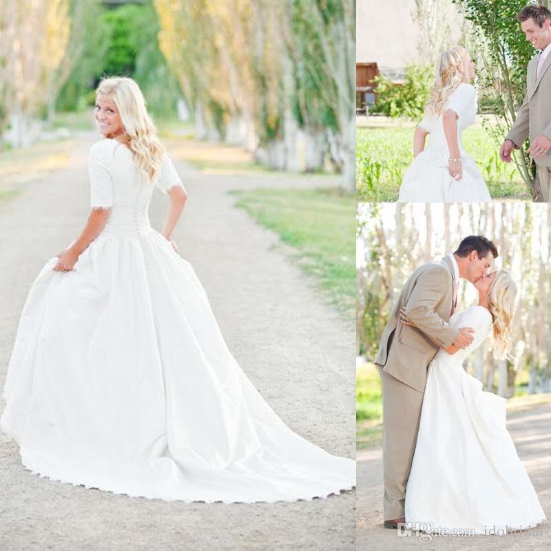Modest afordable summer dresses for wedding