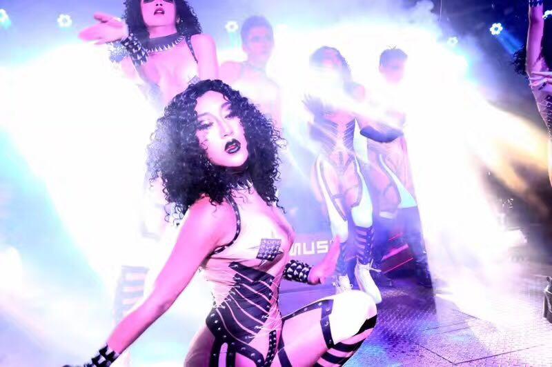 Équipe Sexy Costume Hommes Noir Même Performances Salopette Célébration La Moulant Femmes Partie Mécanique Avec D'anniversaire Et Spectacle SzqrwSt7
