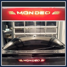 Carbon Fiber Vinyl Rear Windshield Brake Lights Sticker Car Styling For Ford Mondeo 07-10 For Ford Mondeo 2011-2013