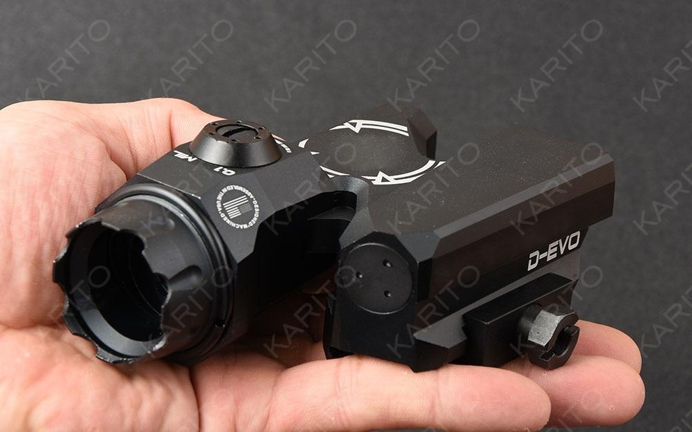 Tactical 6x20 optics Rifle Scope D EVO Dual Enhanced for picatinny rail mount Aluminum alloy cnc manufacturing M3720