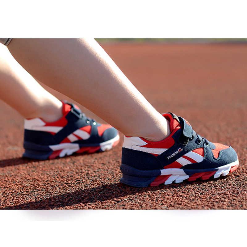 Kinderen schoenen jongens sneakers meisjes sport schoenen maat 26-39 kind leisure trainers casual ademende kinderen loopschoenen