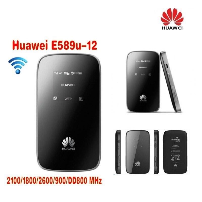 Здесь продается  Unlocked Huawei E589 portable 4G LTE Wireless Router plus antenna  Компьютер & сеть
