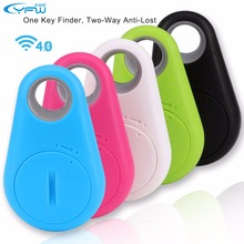 YFW Wireless Bluetooth Smart Anti Lost Tracker Wallet Child Key Finder Lost Thing Receiver Sensor Alarm Locator GPS