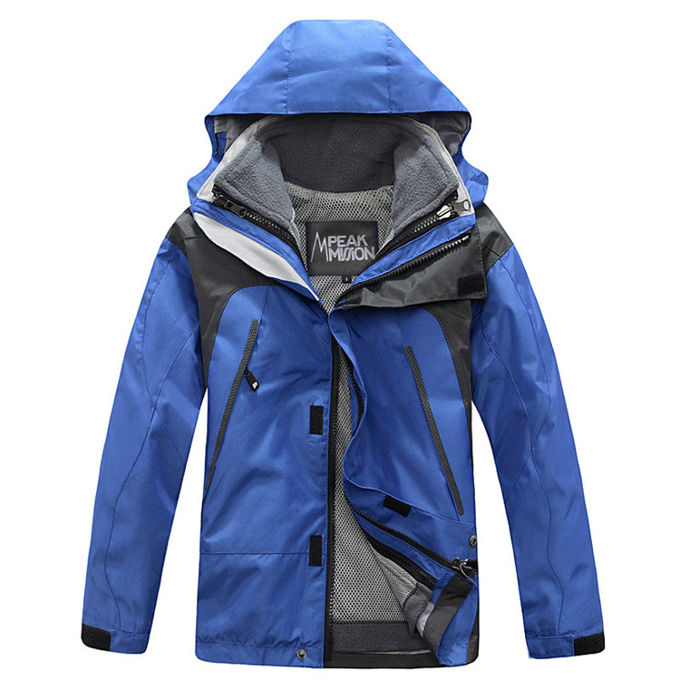 baby girl clothes kids Two sets of three one removable live in the living face boy girl children winter jackets. fred blunt one two three