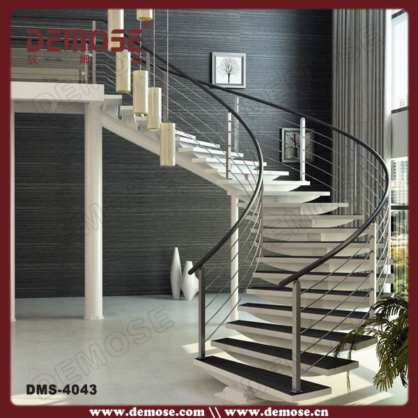 Prefabricated Stairs/solid Wood Stairs For Modern Home