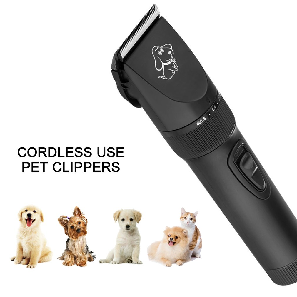 P7 Rechargeable Pet Dog Hair Clipper Profssional Electric Pet Grooming Clippers Dogs Cats Animals Low Noise Pet Trimmer Kit
