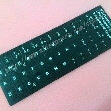 Free Shipping 50pcs/lot Black Portuguese (BR) Keyboard sticker Po brazil label