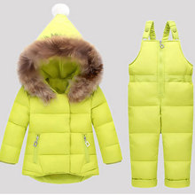 Children's Down Jacket Girls Boys Babies Babies Down Pants Open Crotch Children's Clothing Girl's Clothes New Year Dress Kids