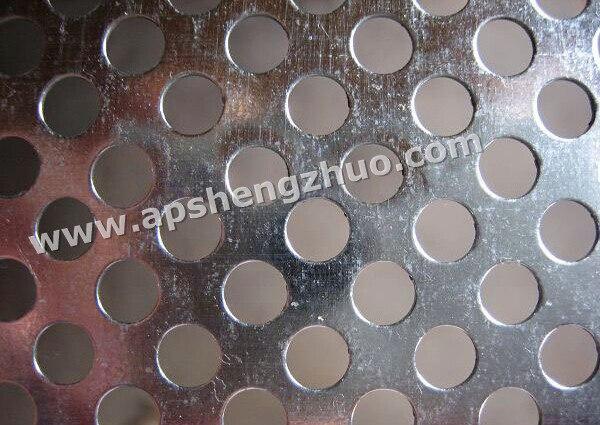 4.0mm Round Hol Punching Mesh Titanium Sheet Punching Filter Mesh Hotting Sales 500mm*1000mm